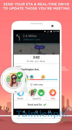 download waze cho android