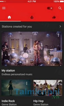 download youtube music cho iphone