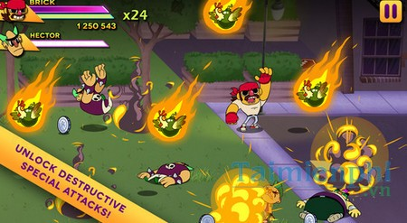 download big action mega fight cho iphone