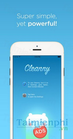 download cleanny cho iphone