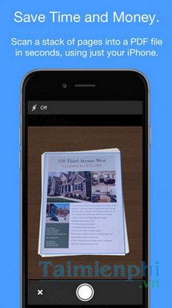 download smart pdf scanner cho iphone