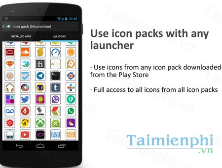 download awesome icons cho android