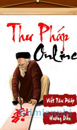 download thu phap online cho android