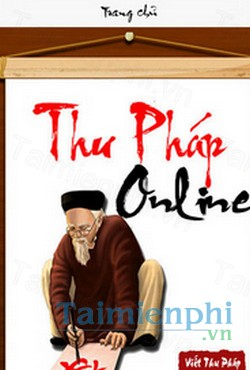 download thu phap online cho iphone