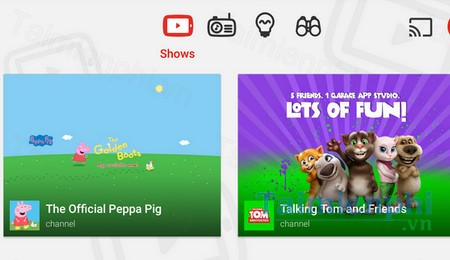 download youtube kids cho android