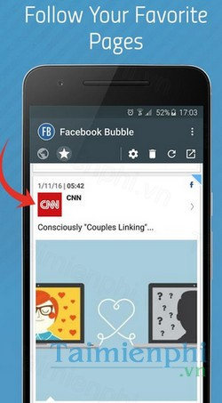 download bubble for facebook cho android