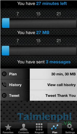 download calldata time monitor cho iphone
