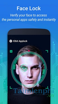download iobit applock face lock cho android