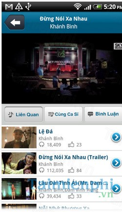 download nhaccuatui lite cho android