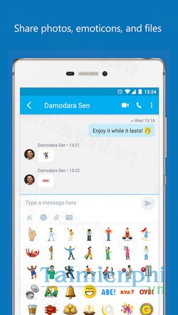 download skype lite cho android