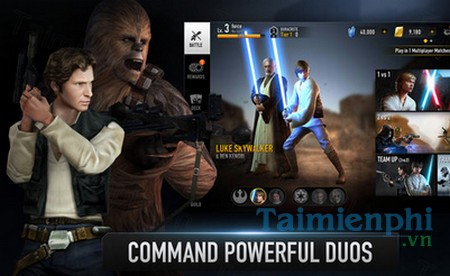 download star war force arena cho iphone