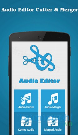 download audio editor cutter merger cho android