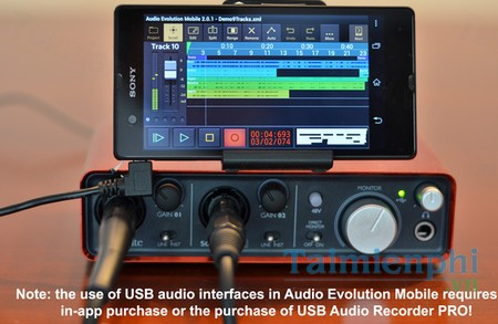 download audio evolution mobile studio cho android