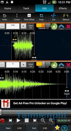 download audiodroid cho android