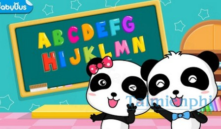 download baby panda learns abc cho android
