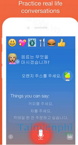 download learn korean language learning lessons cho iphone