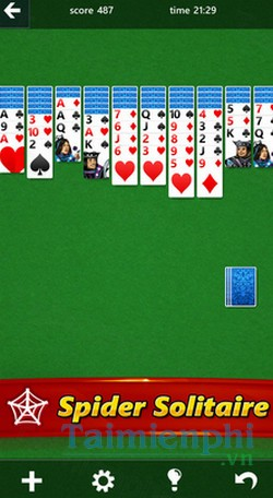 download microsoft solitaire collection cho iphone