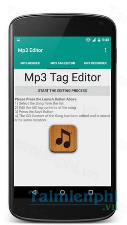 download mp3 editor cutter merger cho android