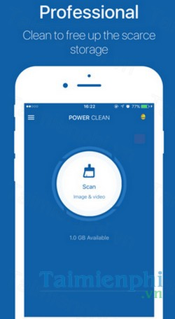 download power clean cho iphone