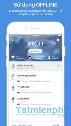 download wifi chua cho android