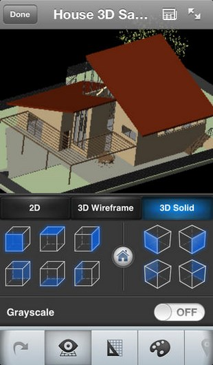 AutoCAD WS for iPhone