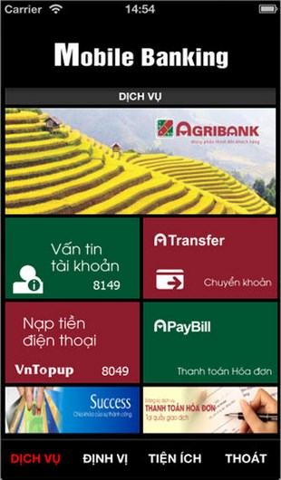 Agribank for iOS