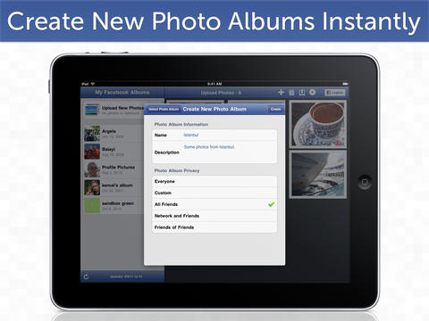 PhotoLoader HD Lite for Facebook (iPad)