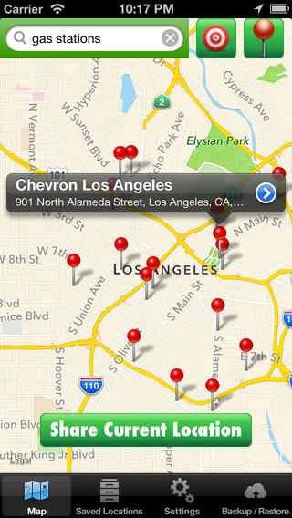 Location Manager Lite for iOS
