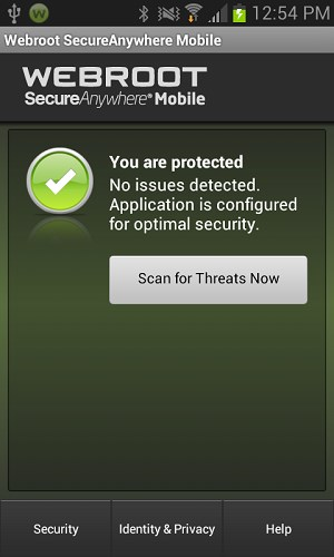 Webroot Security Antivirus for Android