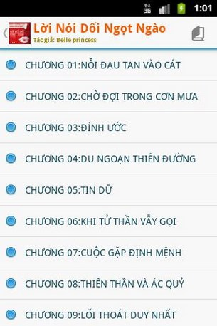 Lời nối dối ngọt ngào for Android