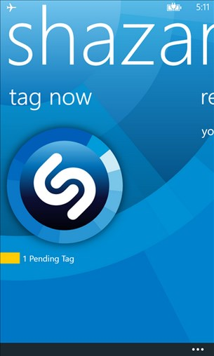 Shazam for Windows Phone